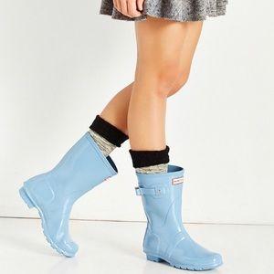 Hunter original Short Gloss Rain boots size 6 eu37